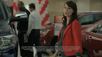 Toyota #1 For Everyone TV Spot - 247 commercial airings