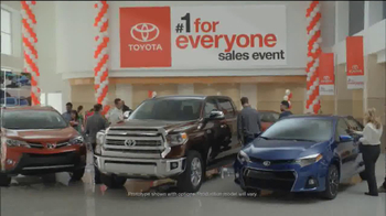Toyota #1 For Everyone Sales Event TV Spot, 'The Three of Us' - Thumbnail 2