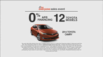 Toyota #1 For Everyone Sales Event TV Spot, 'The Three of Us' - Thumbnail 7