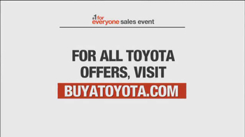 Toyota #1 For Everyone Sales Event TV Spot, 'The Three of Us' - Thumbnail 9