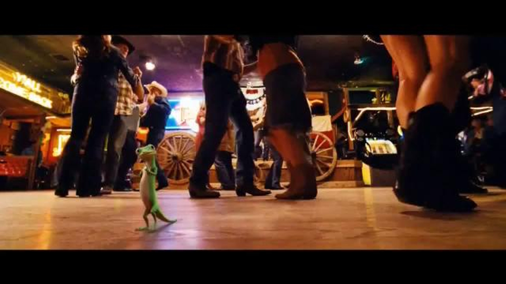 GEICO TV Commercial, 'Line Dancing' Song by Wrinkle Neck ...