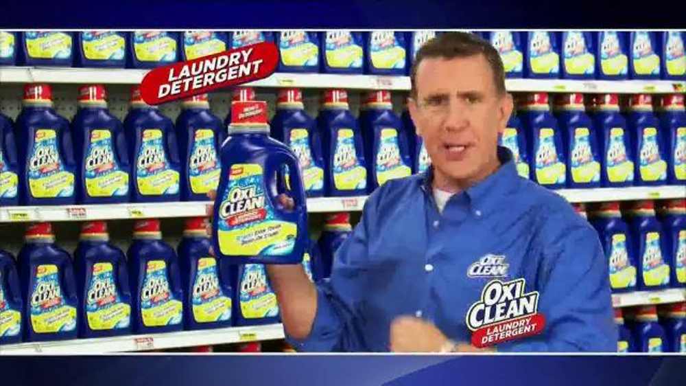 Oxiclean Tv Commercial 3 Stain Fighters Ispot Tv