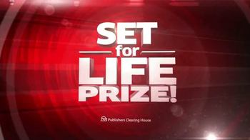 Publishers Clearing House TV Spot, 'Set For Life Prize' - Thumbnail 5