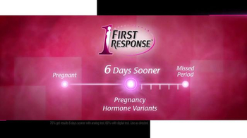 First Response TV Spot, 'Know Sooner' - Thumbnail 6