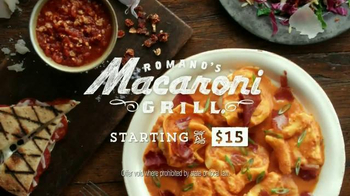 Romano's Macaroni Grill Original Recipe Chef's Tasting Menu TV Spot - Thumbnail 9