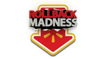 Walmart TV Spot, 'Rollback Madness'