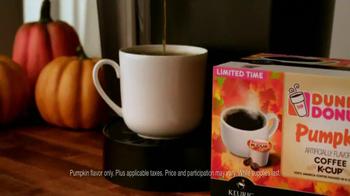 Dunkin' Donuts Pumpkin K-Cup Packs TV Spot, 'Best Day' - Thumbnail 7
