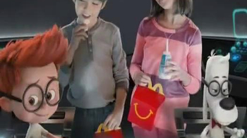 McDonald's Happy Meal TV Spot, 'Mr. Peabody & Sherman' - 137 commercial airings