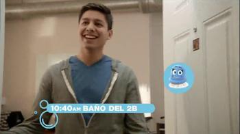 Scrubbing Bubbles Bathroom Cleaner TV Spot, 'Let's Bubble' [Spanish] - Thumbnail 4