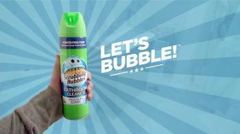 Scrubbing Bubbles Bathroom Cleaner TV Spot, 'Let's Bubble' [Spanish] - Thumbnail 5
