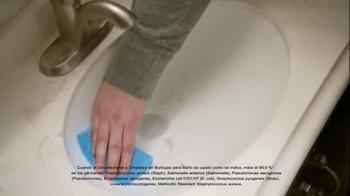 Scrubbing Bubbles Bathroom Cleaner TV Spot, 'Let's Bubble' [Spanish] - Thumbnail 6