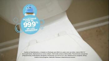 Scrubbing Bubbles Bathroom Cleaner TV Spot, 'Let's Bubble' [Spanish] - Thumbnail 7