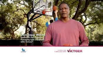 Victoza TV Spot Featuring Dominique Wilkins