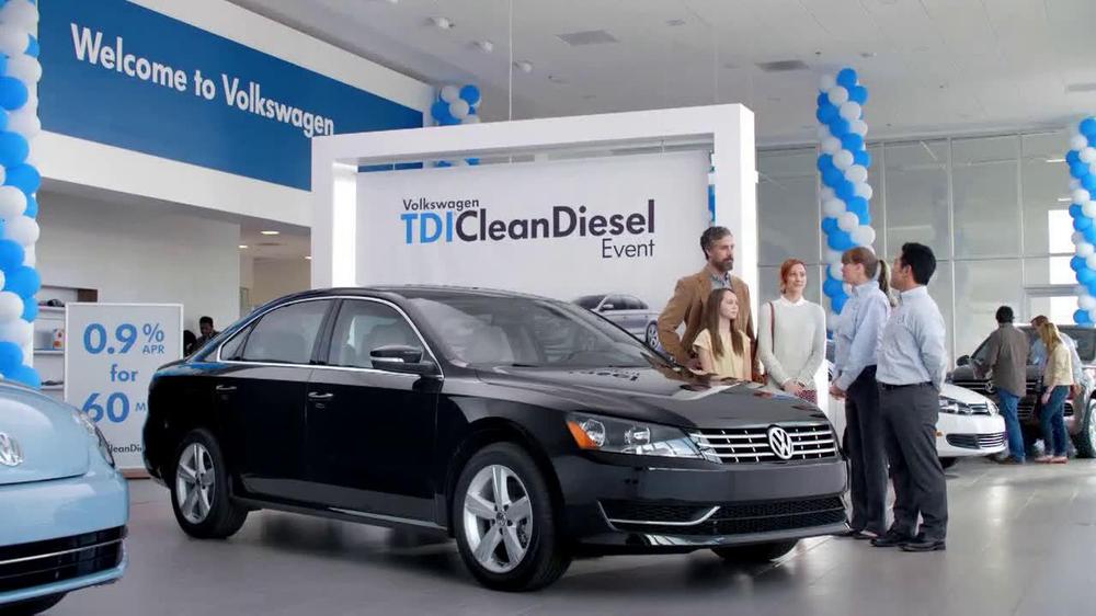 volkswagen passat tdi clean diesel event tv commercial  deals   ispottv