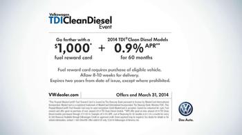 Volkswagen Passat TDI Clean Diesel Event TV Spot, 'Two Deals in One' - Thumbnail 9