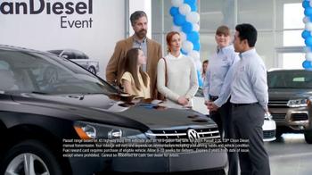 Volkswagen Passat TDI Clean Diesel Event TV Spot, 'Two Deals in One' - Thumbnail 2