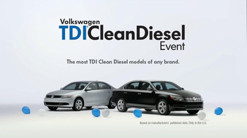 Volkswagen Passat TDI Clean Diesel Event TV Spot, 'Two Deals in One' - Thumbnail 8