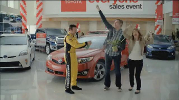 Toyota #1 For Everyone Sales Event TV Spot Featuring Matt Kenseth - Thumbnail 9