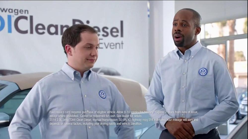 Volkswagen Jetta Tdi Clean Diesel Event Tv Commercial No
