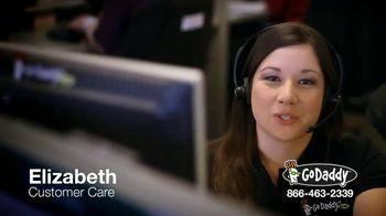 GoDaddy Customer Care TV Spot, 'Here to Help'