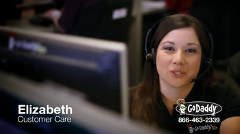 GoDaddy Customer Care TV Spot, 'Here to Help' - Thumbnail 1
