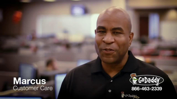 GoDaddy Customer Care TV Spot, 'Here to Help' - Thumbnail 2
