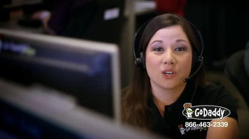 GoDaddy Customer Care TV Spot, 'Here to Help' - Thumbnail 3