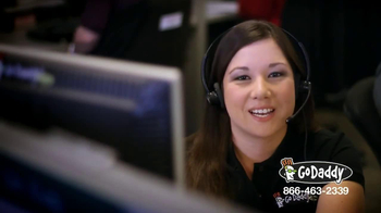 GoDaddy Customer Care TV Spot, 'Here to Help' - Thumbnail 4