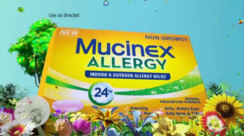 Mucinex Allergy TV Spot, 'Lawn Mower' - Thumbnail 6