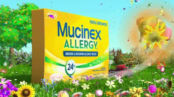 Mucinex Allergy TV Spot, 'Lawn Mower' - Thumbnail 8