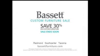 Bassett Custom Furniture Sale TV Spot, 'Save 30%' - Thumbnail 10