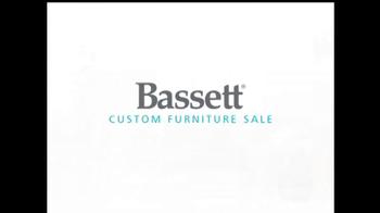 Bassett Custom Furniture Sale TV Spot, 'Save 30%' - Thumbnail 2