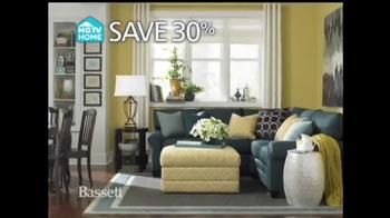 Bassett Custom Furniture Sale TV Spot, 'Save 30%' - Thumbnail 4