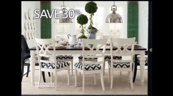Bassett Custom Furniture Sale TV Spot, 'Save 30%' - Thumbnail 9
