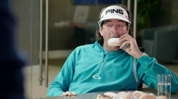 PGA Tour TV Spot, 'Doughnuts' Featuring Bubba Watson - 281 commercial airings