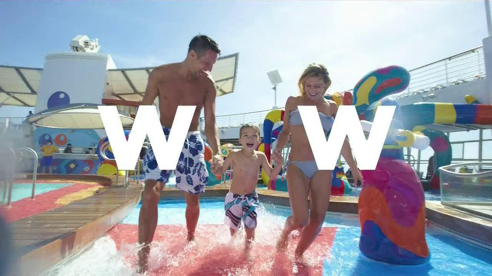 Royal Caribbean Cruise Lines TV Commercial Destination Wow Kids - Kids sail free