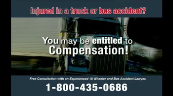 Zehl & Associates TV Spot, 'Truck or Bus Accident Injury' - Thumbnail 4