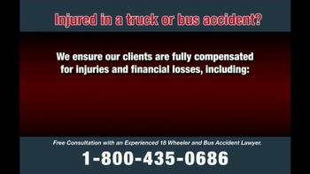 Zehl & Associates TV Spot, 'Truck or Bus Accident Injury' - Thumbnail 7
