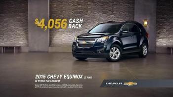 Chevrolet Memorial Day Sale TV Spot, 'Surprising Deals' - Thumbnail 9