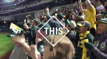 Major League Baseball TV Spot, 'A's Fans Believe in Stephen Vogt'