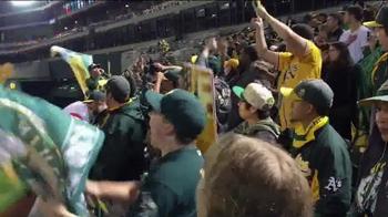 Major League Baseball TV Spot, 'A's Fans Believe in Stephen Vogt' - Thumbnail 2
