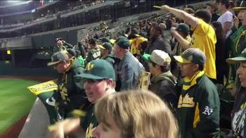 Major League Baseball TV Spot, 'A's Fans Believe in Stephen Vogt' - Thumbnail 7