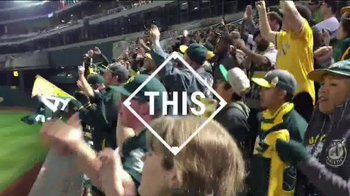 Major League Baseball TV Spot, 'A's Fans Believe in Stephen Vogt' - 17 commercial airings