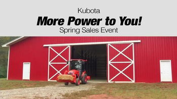 Kubota More Power to You! Spring Sales Event TV Spot, 'Who Are We?' - Thumbnail 5