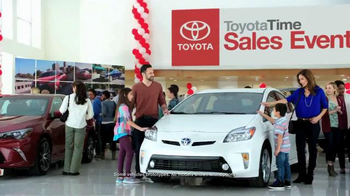 2015 Toyota RAV4 TV Spot, 'Toyota Time Sales Event: Wave' - Thumbnail 1
