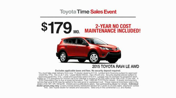 2015 Toyota RAV4 TV Spot, 'Toyota Time Sales Event: Wave' - Thumbnail 5