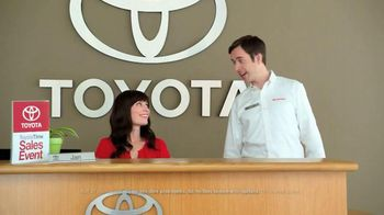 2015 Toyota RAV4 TV Spot, 'Toyota Time Sales Event: Wave' - 30 commercial airings