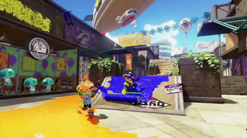 Nintendo Wii U Splatoon TV Spot, 'Splat The World' - Thumbnail 1