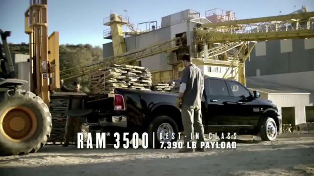 Ram 3500 and 1500 TV Commercial, 'Ram Drive and Discover Event: Leadership'