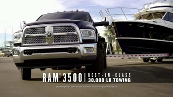 Ram 3500 and 1500 TV Spot, 'Ram Drive and Discover Event: Leadership' - Thumbnail 2